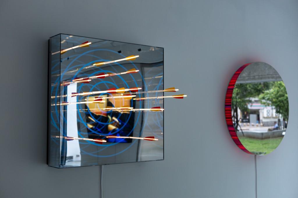 德國光雕藝術家打造無限奇幻隧道 亞洲首展濃縮創作生涯台北登場