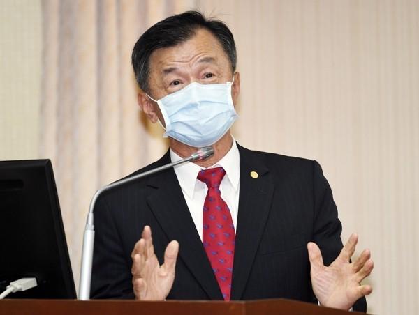 Mainland Affairs Council Minister Chiu Tai-san