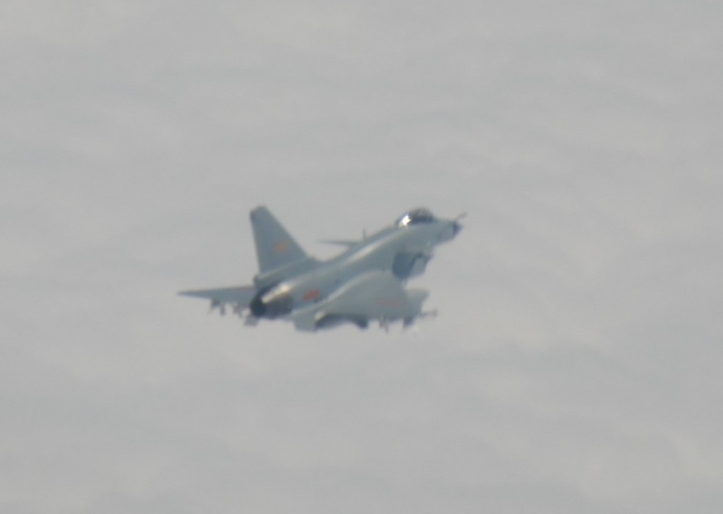 Chinese J-10 fighter jet (MND photo)