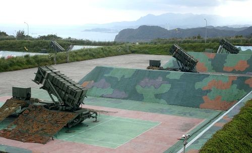 Archived photo of Taiwan's Patriot PAC-3 missiles