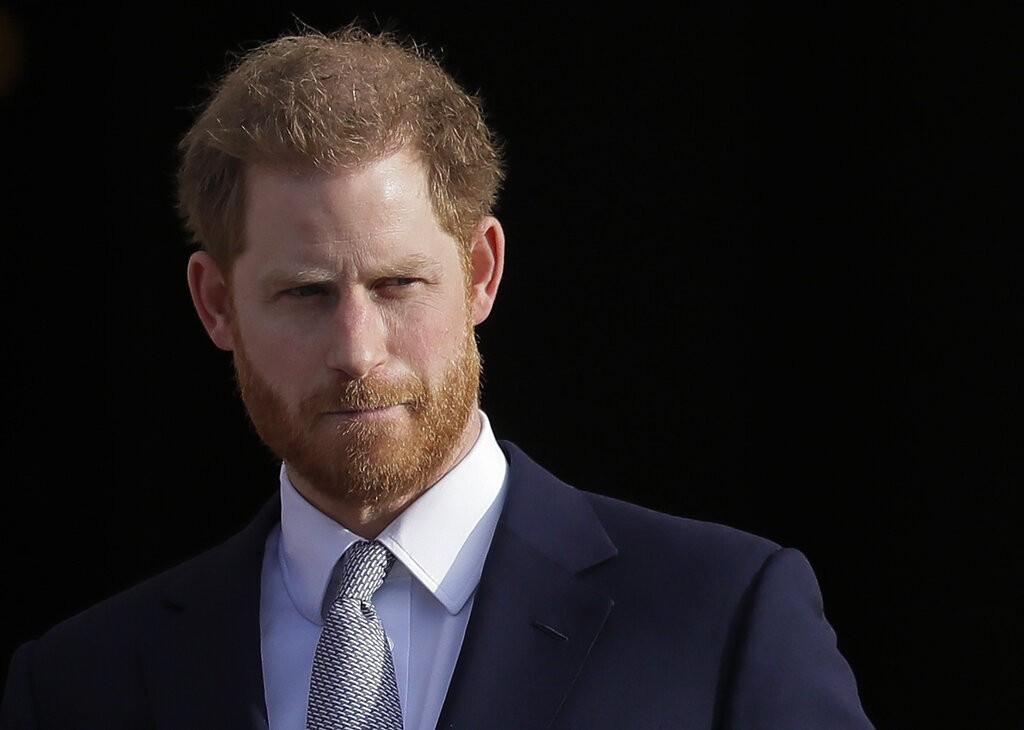 英國哈利王子(美聯社)