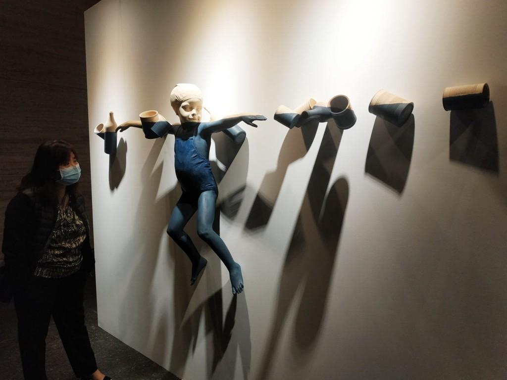 SDGs Art 2021 全球首場實體展覽台北登場(圖/Taiwan News_Lyla Liu)