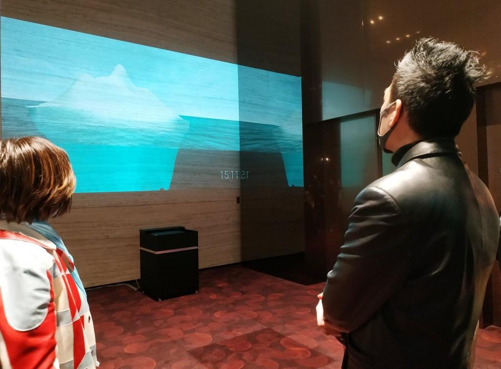 藝術響應聯合國環境永續目標 全球首場實體展台北驚見漸融冰山