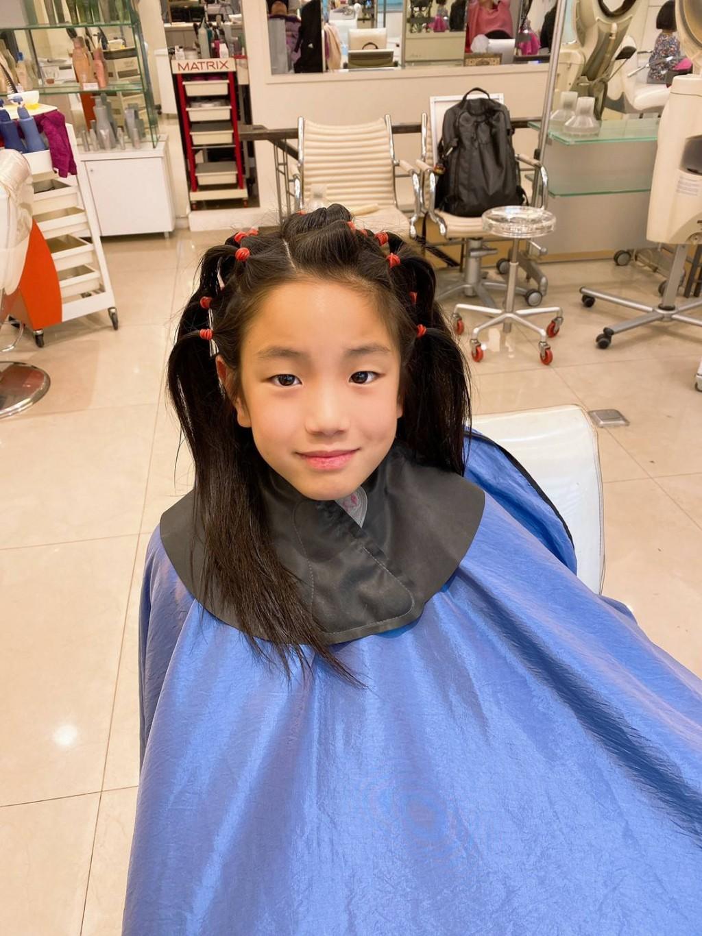 超暖!田徑小選手「蓄髮2年」不畏被當成女生 全為捐髮助癌友