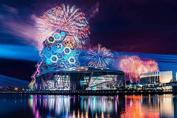 National Day fireworks to take place in Taiwan's Kaohsiung