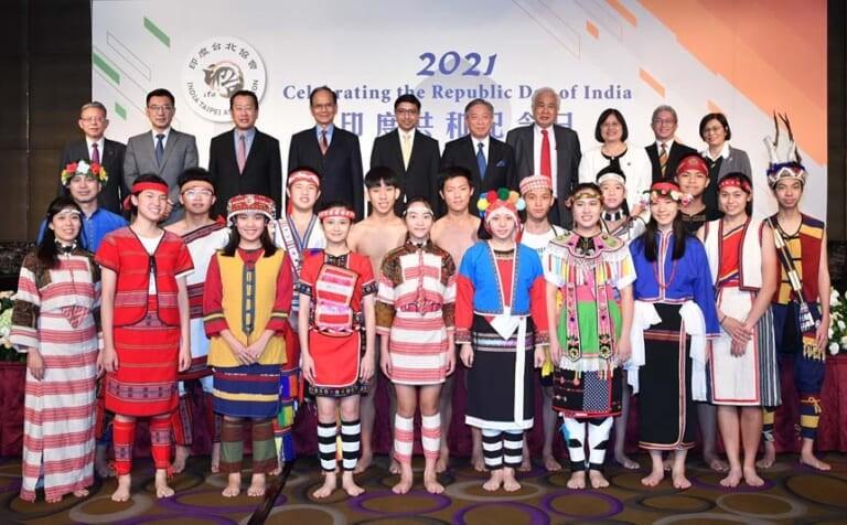 印度台北協會慶祝印度共和紀念日 見證台印友誼強化