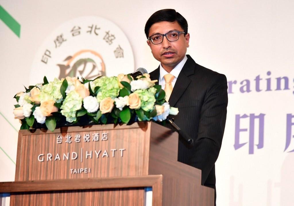 印度駐台代表戴國瀾。(圖/印度台北協會)
