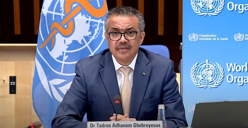 WHO Director-General TedrosAdhanom Ghebreyesus. (YouTube, WHO)