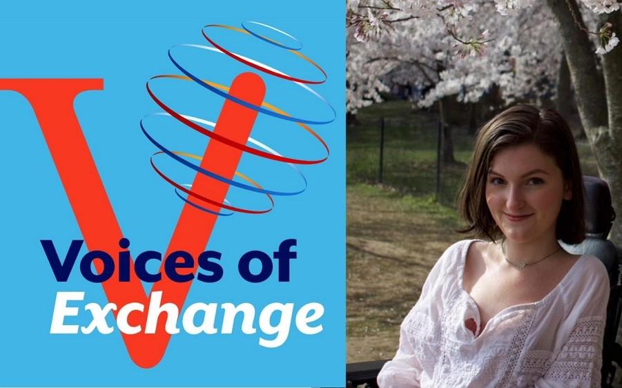 美國國國務院開播新的Podcast節目「交流的聲音( Voice of Exchange」。(來源:AIT粉絲專頁)