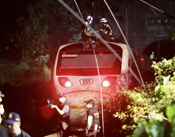 Train derailment in Hualien resulted in at least 50 deaths and 162 injuries.