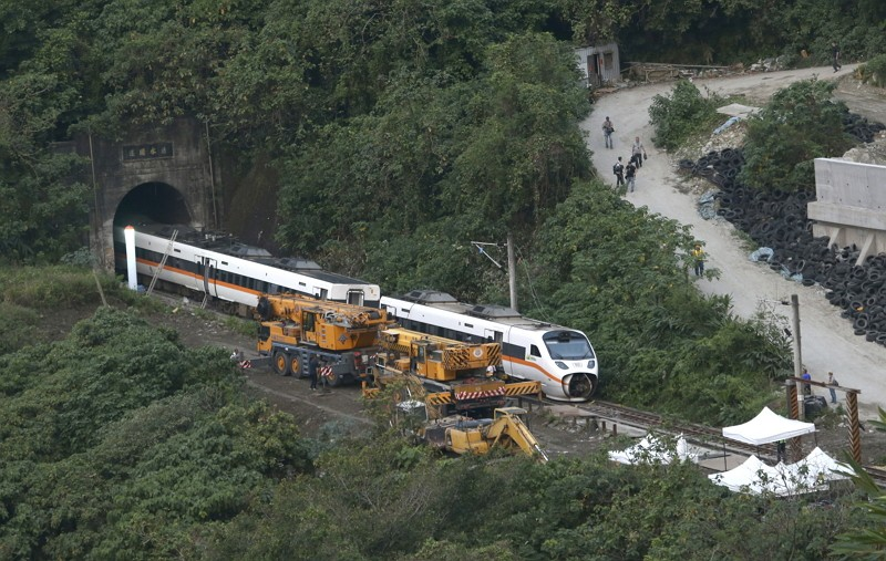 Taiwan 'corpse repairers' recount heartbreaking moments after fatal train crash