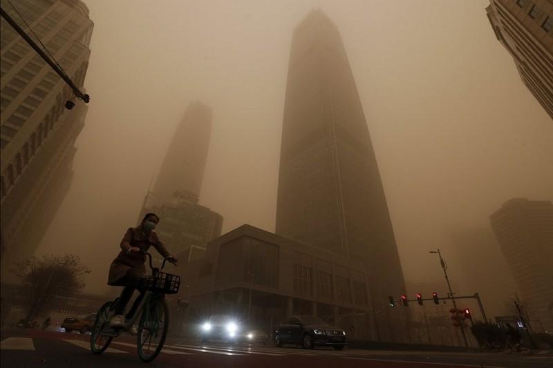 沙塵暴席捲東北亞 氣候變遷是禍首