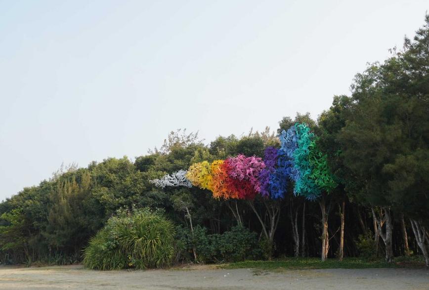 Yuguang Island Art Festival begins in southern Taiwan
