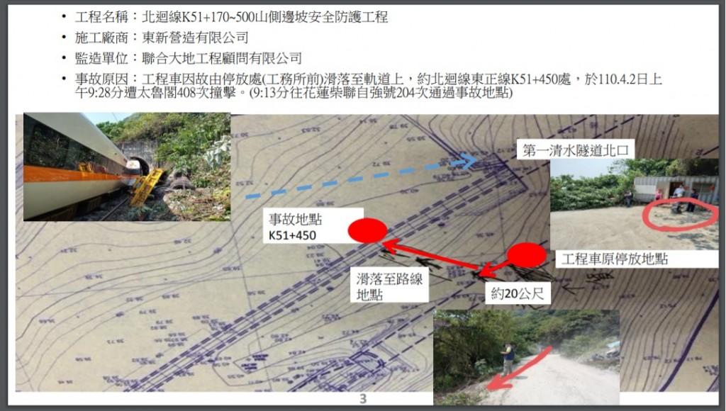 更新【太魯閣號出軌調查】台灣運安會主委楊宏智: 李義祥和移工討論挪動工程車 2關鍵晶片還原現場98%