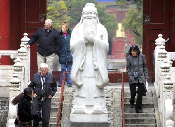 Beijing-sponsored Confucius Institutes labeled as Chinese propaganda arm.