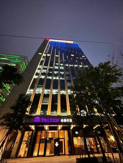 南港老爺點亮藍燈、繫藍絲帶  響應2021世界自閉症關懷日