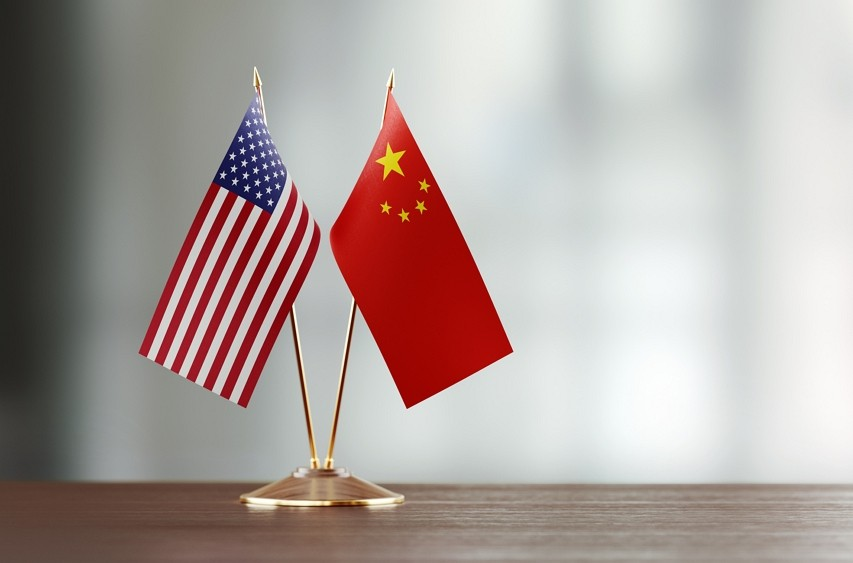 US, China flags (Getty Images)