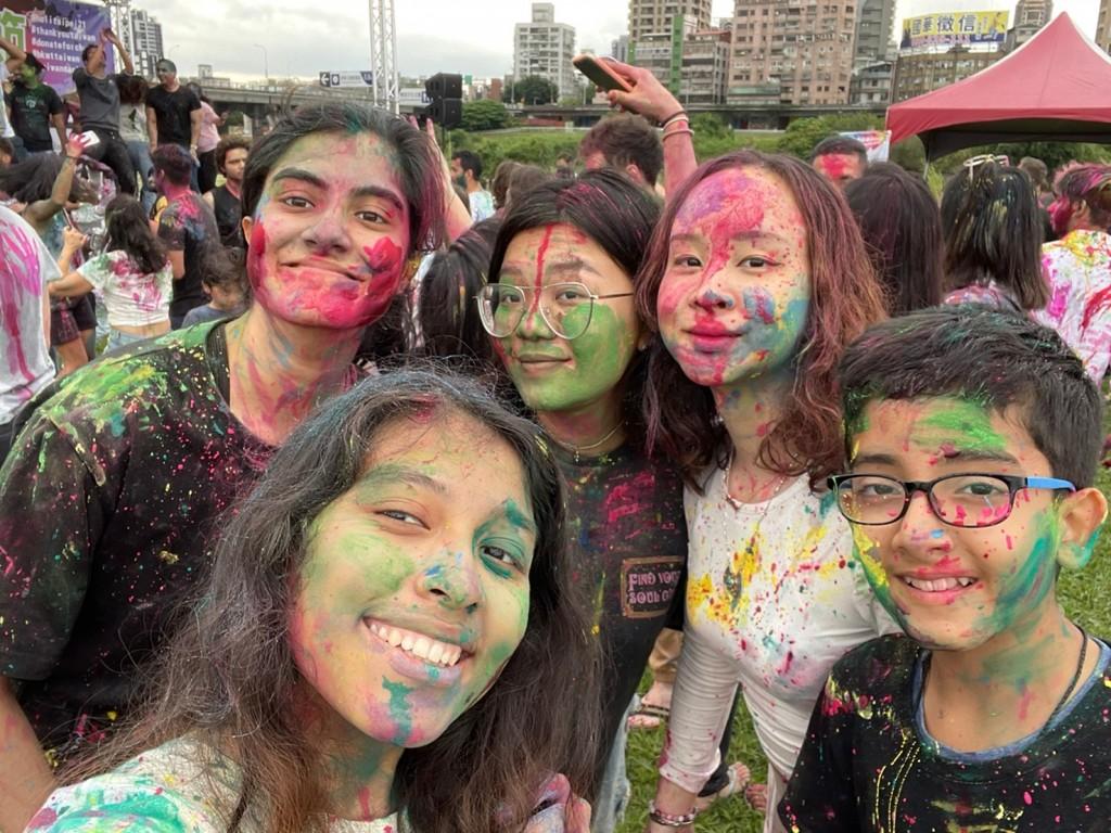 Indian Holi Festival celebrates diversity in Taipei