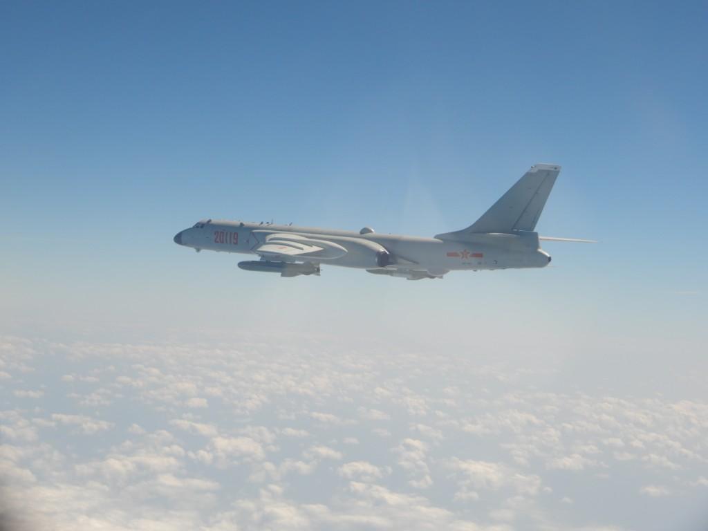 Chinese Xian H-6 bomber (MND photo)