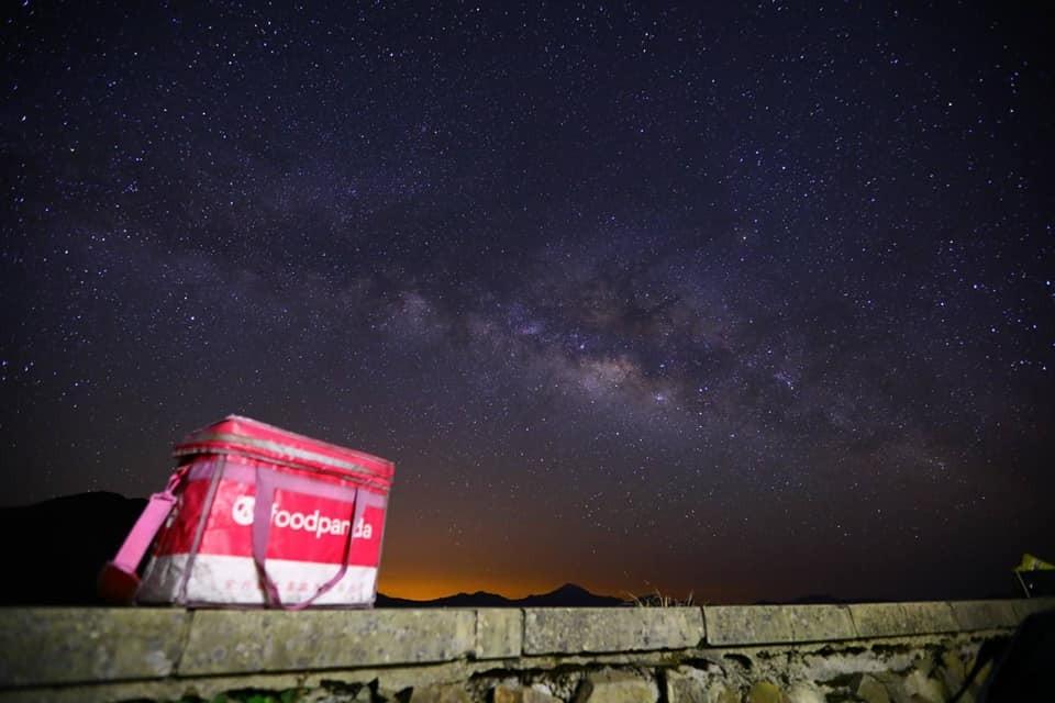 Foodpanda driver survives delivery to Taiwan's Hehuanshan