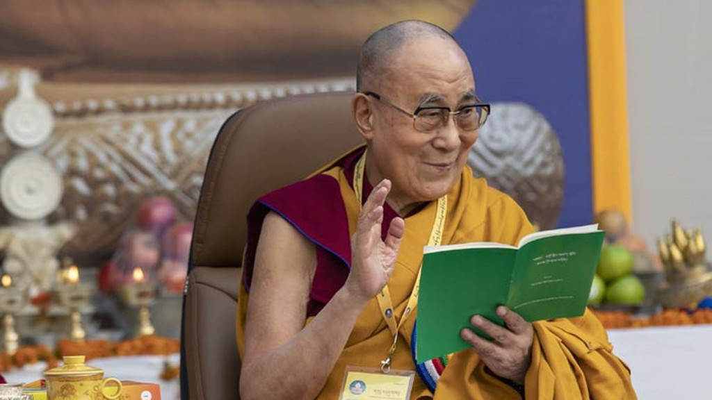 The Dalai Lama is one of the speakers at the April 26-28 Nobel Prize Summit