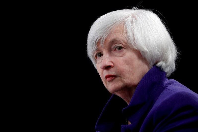 美國財政部長葉倫在上任後第一份半年度外匯報告中,不打算將中國列為匯率操縱國。(圖/路透社)