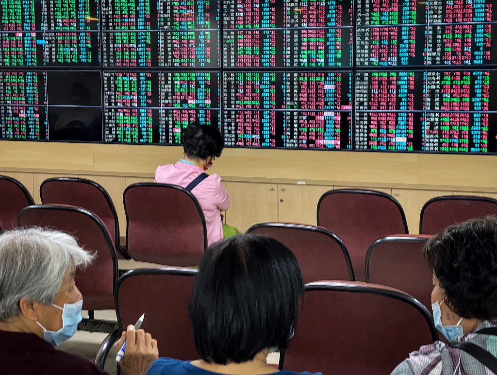 Investors watching the moves on the Taiwan stock market