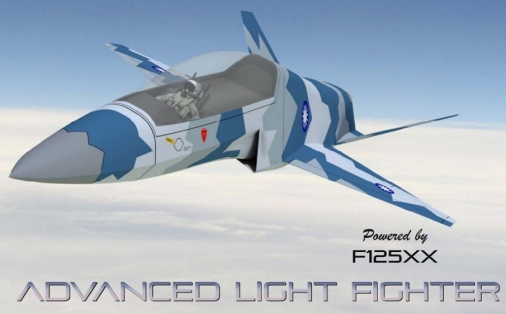 Concept illustration of Taiwan's potential new fighter jet. (Stavatti Aerospace image)