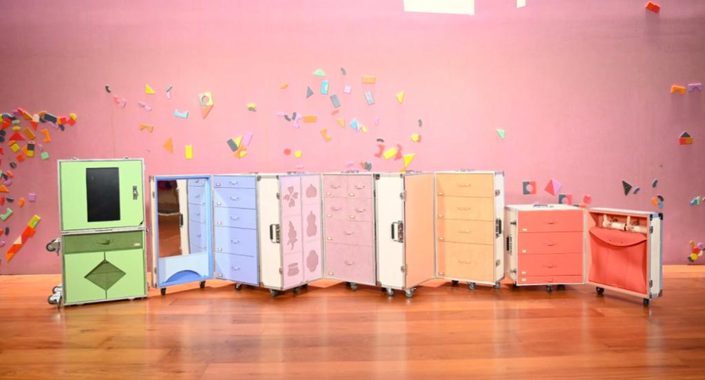 「故宮移動博物館」教具箱榮獲2021德國iF設計獎。(圖/故宮)