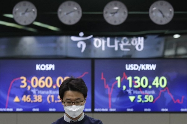 Asia shares look to China data as global economic recovery hopes underpin world shares