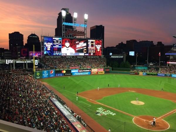 MLB All-Star Game atProgressive Field, Ohio in 2019