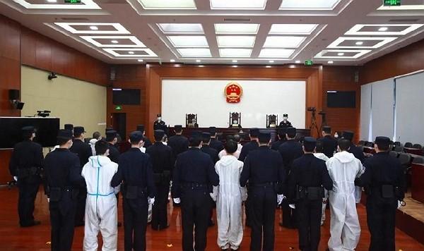 (Weibo,Beijing Municipal High People's Court photo)