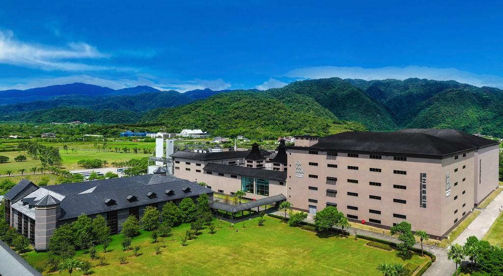 Kavalan Distillery in Yilan County's Yuanshan Township. (Kavalan photo)