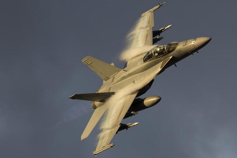 Super Hornet fighter jet (Australian Air Force photo)