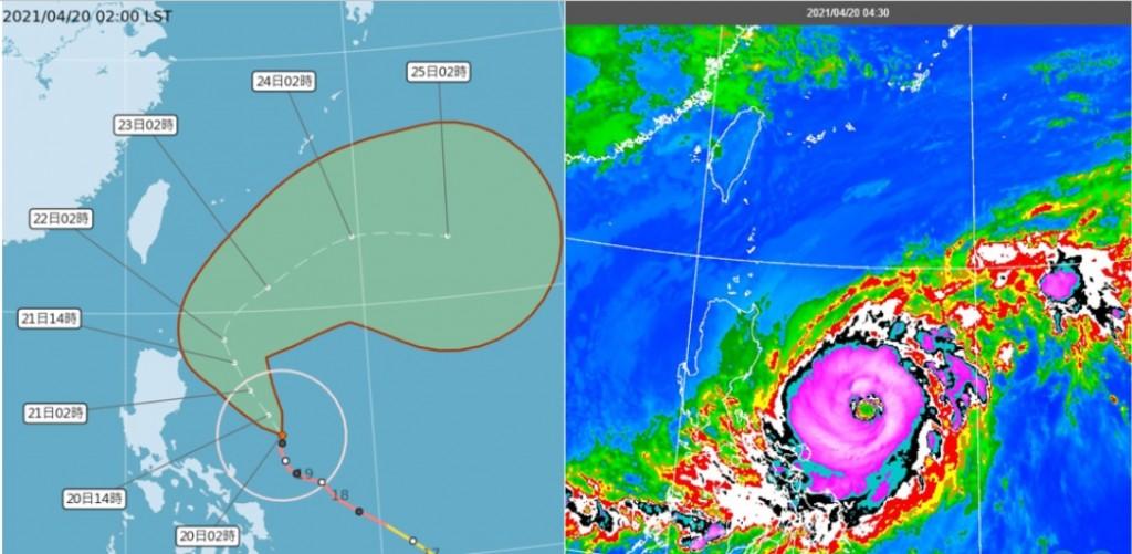 【更新】大眼颱「舒力基」影響•長浪不容小覷 吳德榮:颱風23日起力道漸弱