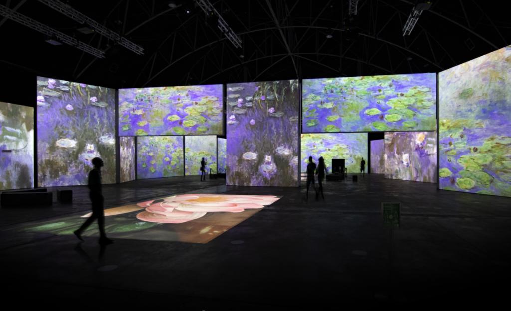 《印象莫內-光影體驗展》將於6月25日台北松山文創園區登場(圖/KKLIVE)