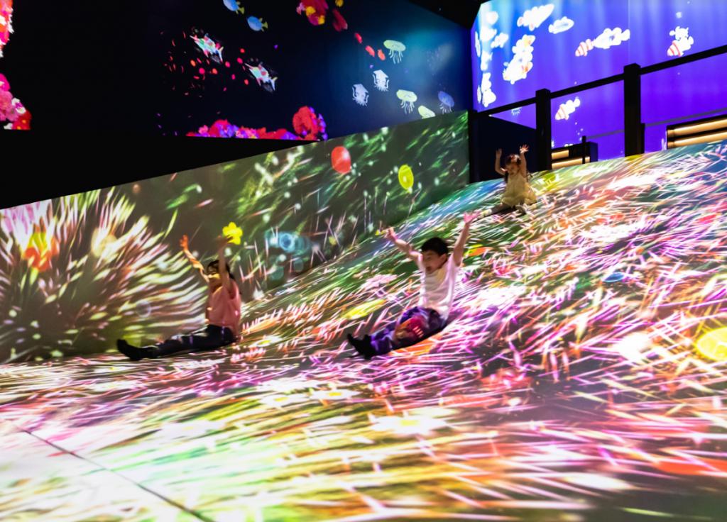 玩起來!日本科技藝術團隊teamLab未來遊樂園 九大挑高互動裝置台灣趣味登場