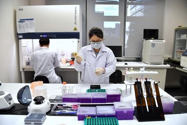 Researchers atMedigen Vaccine Biologics Corp.
