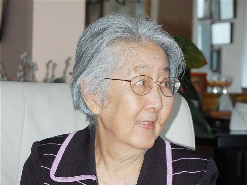 國父孫中山孫女孫穗華16日在美國加州逝世,享耆壽96歲。圖攝於2011年。(圖/中央社)
