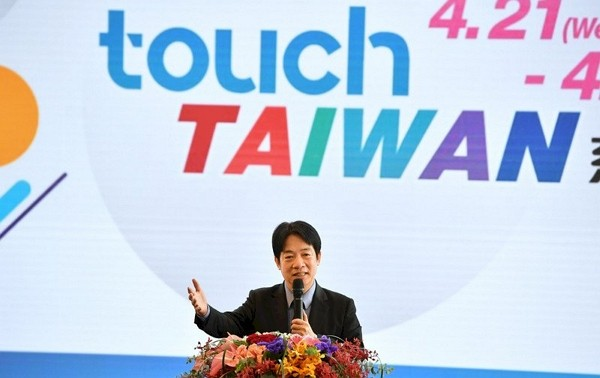2021 Touch Taiwan trade show opens at Nangang Exhibition Center