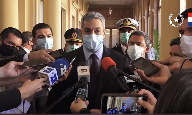 巴拉圭總統阿布鐸(推特照片)