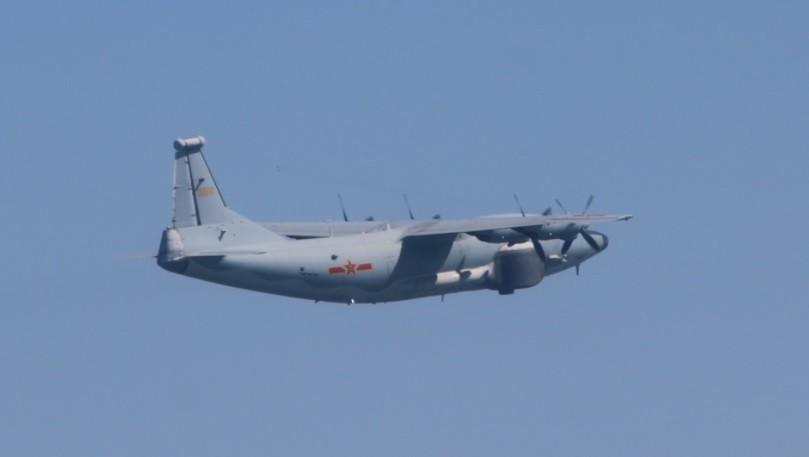 Chinese Y-8 EW (MND photo)