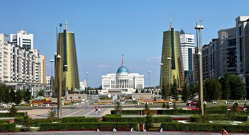 Astana, Kazakhstan. (flickr, Ninara photo)