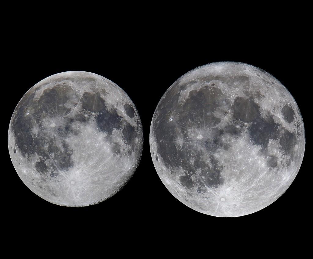 今年第一次「超級月亮」將在4/27登場。(圖/台北市立天文館提供)