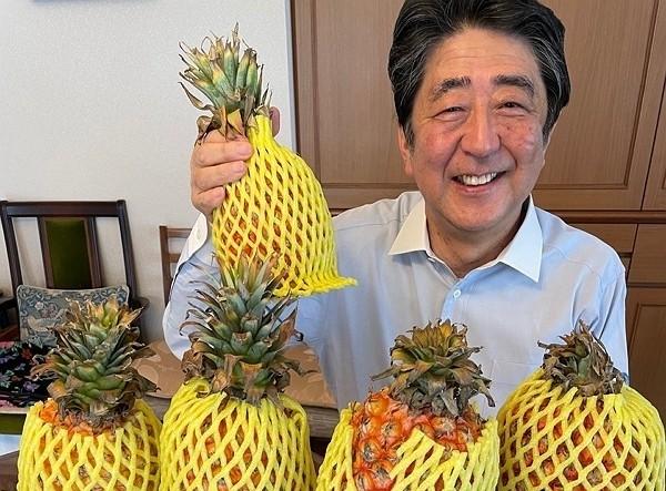 (Twitter, Abe Shinzo photo)
