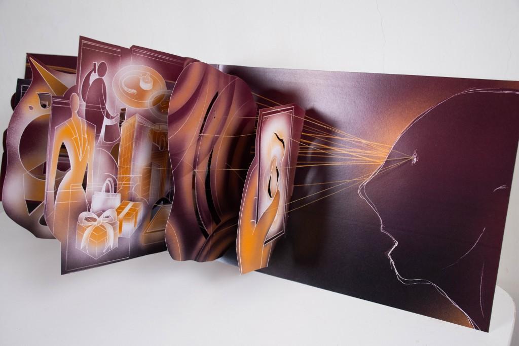 435藝術聚落進駐藝術家「目光:賴冠傑創作個展」一線一目光 牽動靈魂與身軀