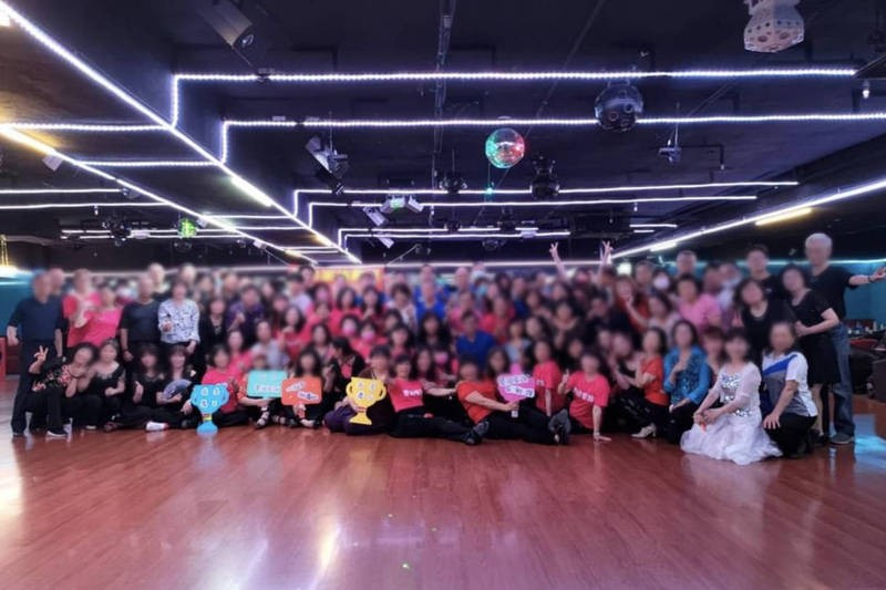 Over 100 people not seen wearing masks at Amanda Dance Hall event on April 20. (Facebook, Amanda Dance Hall photo)