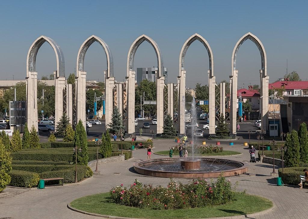 Almaty in Kazakhstan (Wikicommons, Ninara photo)