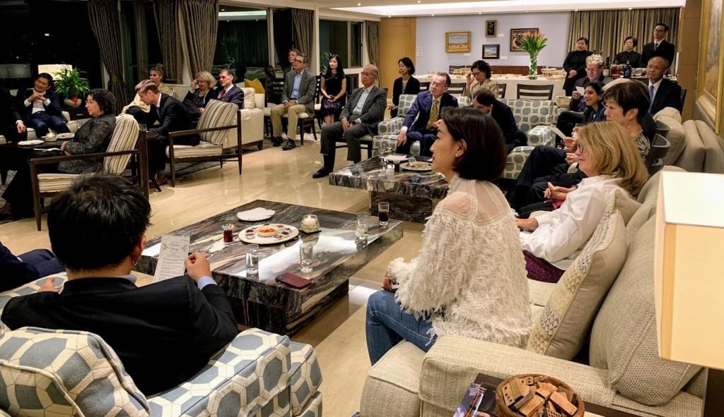 【美國亞太裔傳統月】AIT舉辦音樂沙龍 台灣多位政要名流出席