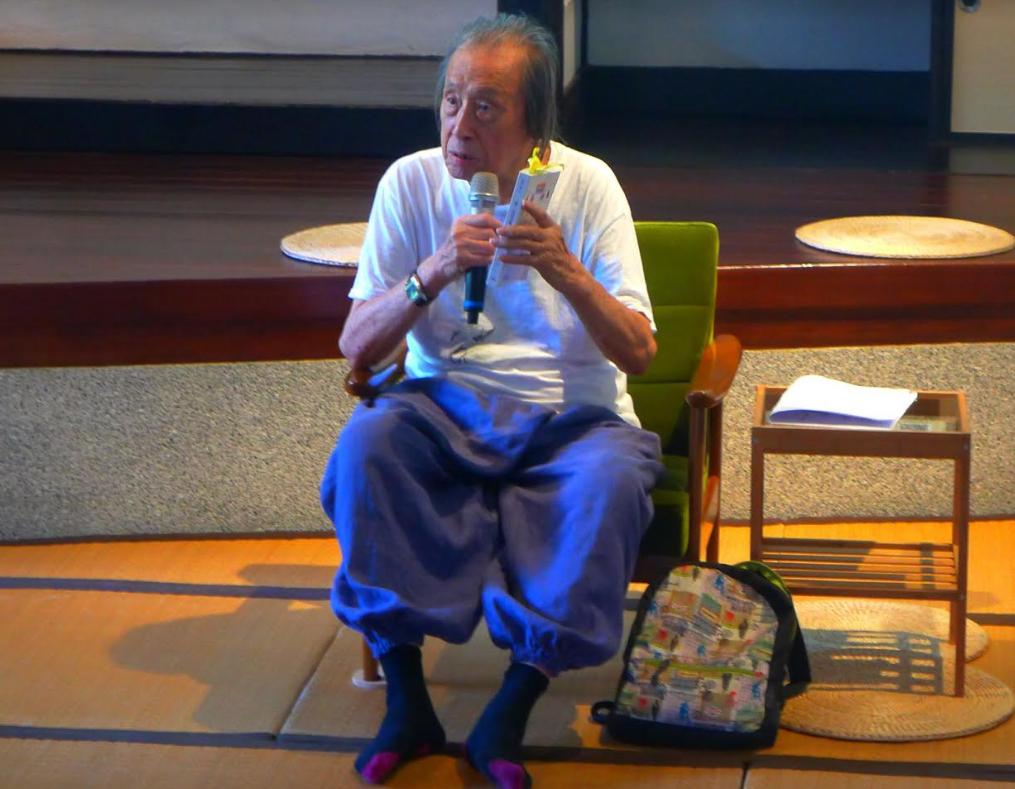 詩人管管(本名管運龍)於5月1日辭世,享耆壽92歲。(圖/文化部)
